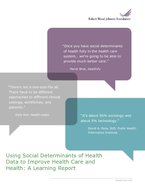 RWJF-SDOH-Learning-Report