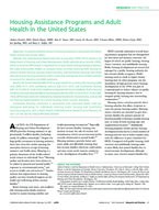 Fenelon et al - Housing assistance programs and adult health in the US - AJPH - February 2017