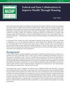 NASHP Health-and-Housing-Brief