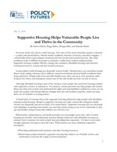 supportive housing cbpp paper